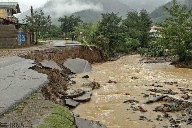 سیل به بیش از 1600 کیلومتر راه روستایی کرمان خسارت زد