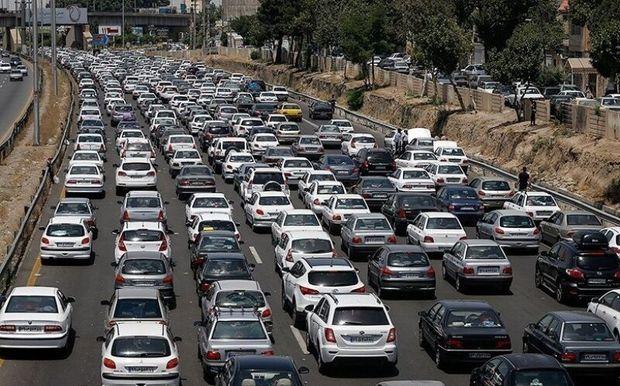 تردد روزانه ۶ هزار خودرو از شهر تاریخی سامن