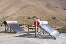 262 آبگرمکن خورشیدی در روستاهای کهگیلویه و بویراحمد نصب شد