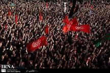 اوج عزاداری مردم کرمان در روز عاشورا
