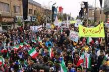 مردم مهریز بر حضور فعال در راهپیمایی 13 آبان تاکید کردند
