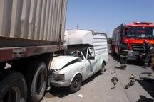 تصادف در بستان هفت مصدوم برجای گذاشت