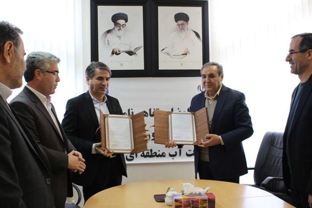 آموزش و پرورش و آب منطقهای تفاهمنامه همکاری امضا کردند