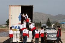هلال احمر اردبیل بیش از 11 میلیارد ریال به سیل زدگان کمک کرد