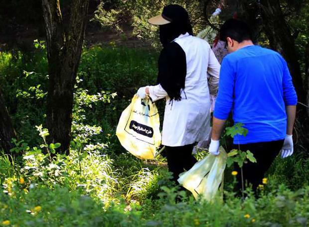 توزیع 5 هزار پلاستیک زباله توسط شهرداری گرگان در روز طبیعت