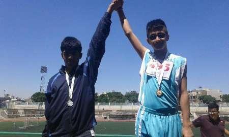 درخشش ورزشکاران البرزی در مسابقات نابینایان و کم بینایان کشور