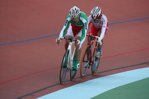 قهرمانی دانشور در ماده کایرین دوچرخه سواری ایران