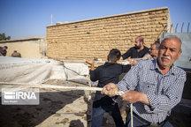 خیمههای نمادین کاروان امام حسین(ع) در بافق برپا شد