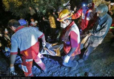18 نفر از جانباختگان در معدن زغال سنگ آزادشهر شناسایی شدند
