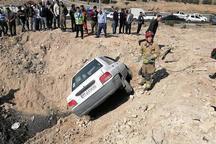 تصادف پراید در بزرگراه شهید بابایی تهران یک کشته داشت