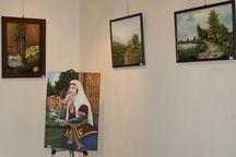 نمایشگاه نقاشی 'رنگ خیال' در تبریز گشایش یافت