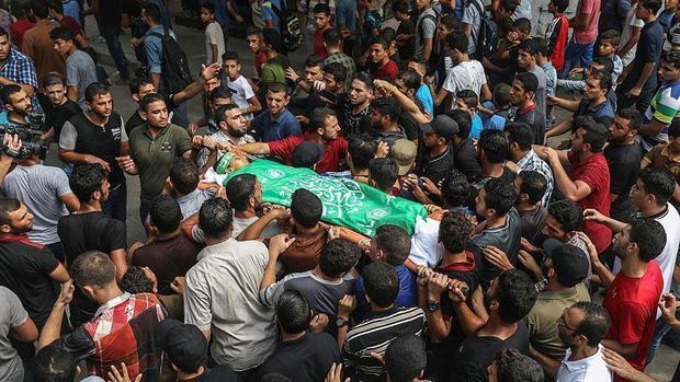 افزایش شمار شهدای راهپیمایی بازگشت در غزه به 198 نفر