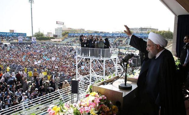 روحانی: نگذاریم خواسته آمریکا از حنجره عدهای خاص برآورده شود