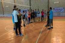 دوره مربی گری درجه 3 والیبال استان بوشهر در گناوه
