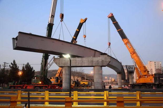 ترافیک بزرگراه شهید کلانتری ناشی از عملیات عمرانی شهرداری مشهد است
