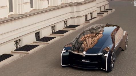 خودروی جدید رنو با ظاهری منحصر به فرد + عکس و ویدئو
