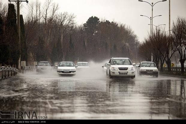 بیشترین میزان بارندگی سامانه کنونی در سپیدان ثبت شد
