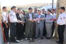 پنجمین پایگاه بین جاده ای فوریت های پزشکی سقز افتتاح شد