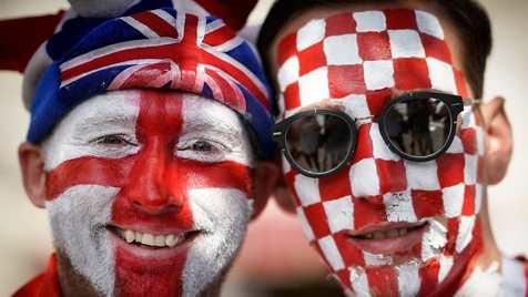 در حال بهروزرسانی… / انگلیس یک - کرواسی صفر حاشیه و تصاویر تقابل انگلیسیها با کرواتها در نیمهنهایی جام بیست و یکم