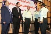 فرمانده انتظامی بروجرد معارفه شد