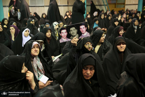 همایش رسالت زن در گام دوم انقلاب در حسینیه جماران