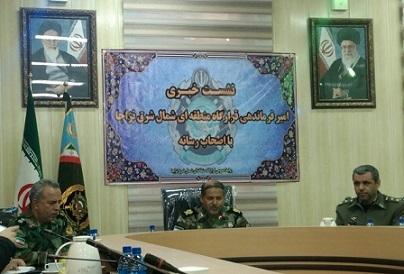 یک فرمانده نظامی: ارتش مقابل هر تهدیدی ایستاده است