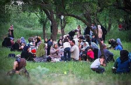 آئین سنتی پنجاه بدر در قزوین برگزار شد