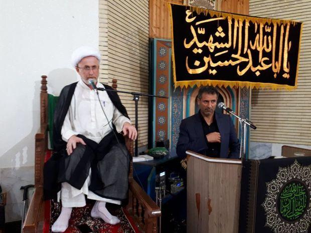 برگزاری مراسم سوگواری حسینی در پرهسر رضوانشهر