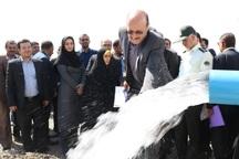 2 طرح آبرسانی در آبیک افتتاح شد