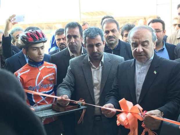 یک طرح ورزشی در کرمان به بهره برداری رسید