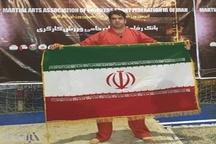 فرهنگی لرستانی مدال برنز اولین دوره مسابقات قهرمانی ورزش های رزمی کارگران جهان را کسب کرد