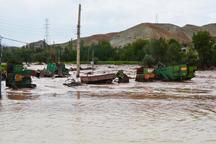 آبگرفتگی و سیل به روستاهای زرند خسارت وارد کرد