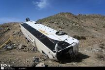 21 دانش آموز مجروح واژگونی اتوبوس در مشهد بستری هستند