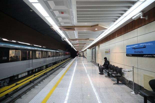 تکمیل فوری سامانه ایمنی خط دوم قطارشهری در حال اجرا است