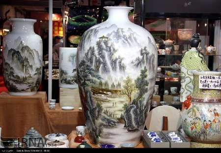 صنایع دستی چینی توسط ماشین تولید شده اند