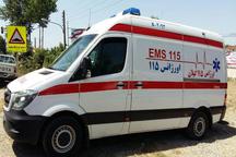 تصادف در اتوبان رشت به تهران شش مصدوم بر جا گذاشت