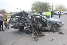 تصادف دو خودرو در کرمانشاه مادر و جنین را به کام مرگ فرستاد