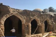 گنبدهای شکسته مسجد تاریخی کریمخان مرمت می شود