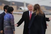 سوتی همسر ترامپ در کاخ سفید