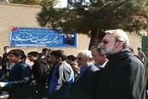 رئیس مجلس در راهپیمایی 22 بهمن شیراز حضور یافت