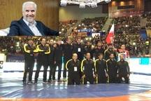 استاندار اصفهان قهرمانی تیم کشتی آزاد ایزی پایپ کاشان در مسابقات جهانی را تبریک گفت