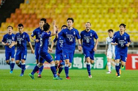 سوون سامسونگ به یکچهارم نهایی لیگ قهرمانان آسیا صعود کرد