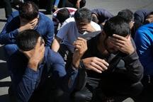 23 معتاد متجاهر در شیروان دستگیر شدند