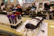 550 واحد خون مازاد همدان به تهران ارسال شد