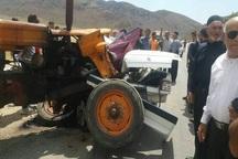 سانحه رانندگی در جاده ورودی ایذه 2 کشته برجا گذاشت