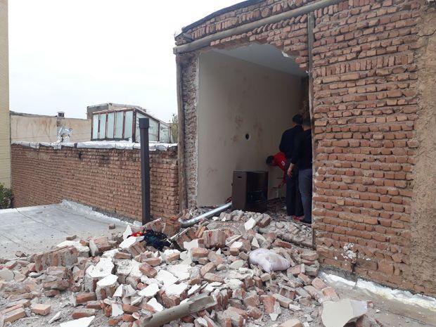 جزئیات انفجار گاز شهری در خیابان عباسی تبریز+تصاویر