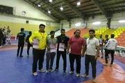 نیمروز قهرمان رقابت های کشتی نوجوانان سیستان و بلوچستان