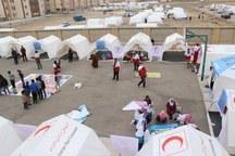دومین تیم حمایت روانی هلال احمر لرستان به مناطق زلزله زده کرمانشاه اعزام شد