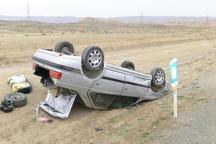 دو سانحه رانندگی در منطقه مرزی گنبدکاووس 6 مصدوم برجا گذاشت
