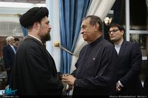 دیدار رئیس مجلس سریلانکا با سید حسن خمینی